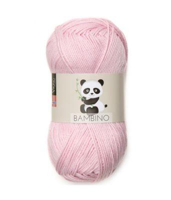 Viking garn - Bambino 465 - Lys rosa