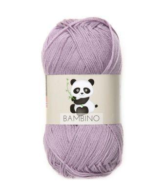 Viking garn - Bambino 467 - Lys lilla
