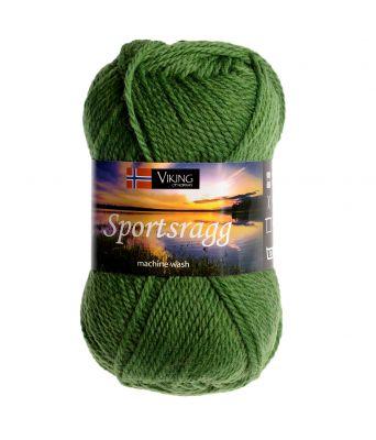 Viking garn - Sportsragg 533 - Grønn