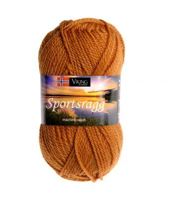 Viking garn - Sportsragg 546 - Sennep