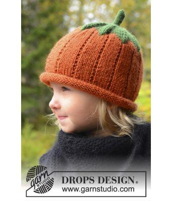 Sweet Pumpkin gresskarlue til Halloween - Drops 0-966