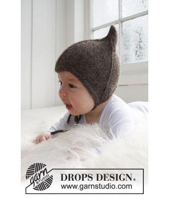 Alladin strikket babylue - Drops baby 21-34