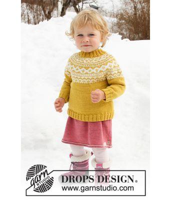 Little Missy strikkegenser - Drops Children 32-7