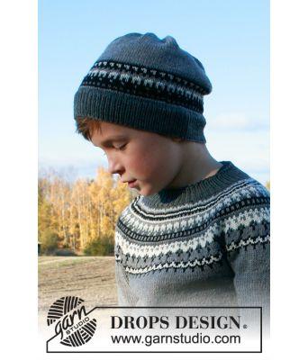 Dalvik lue til barn i merinoull - Drops children 34-19