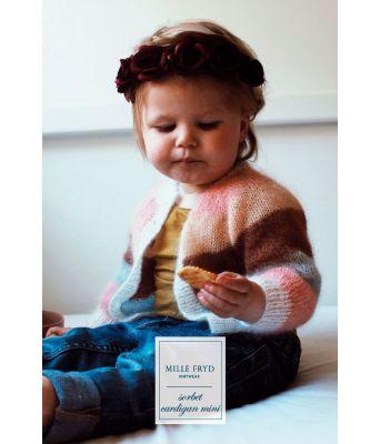 Sorbet cardigan MINI Mille Fryd Knitwear (lang utgave)