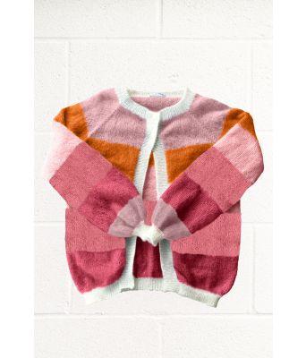 Sorbet cardigan fra Mille Fryd Knitwear (5 farger) v004