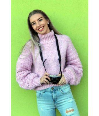 Rosa Lindtein genser