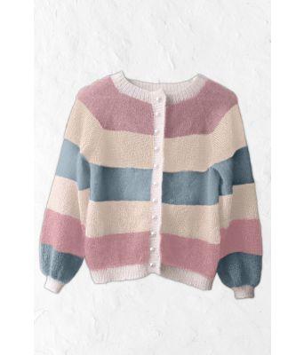 Sorbet bluse fra Mille Fryd Knitwear (5 farger) v003