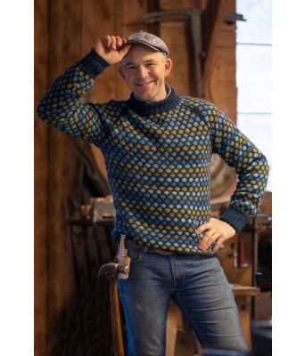 Erik Alfred fra TV / Farmen sin Oppfinner genser - Viking 2010-1 Mørk petrol