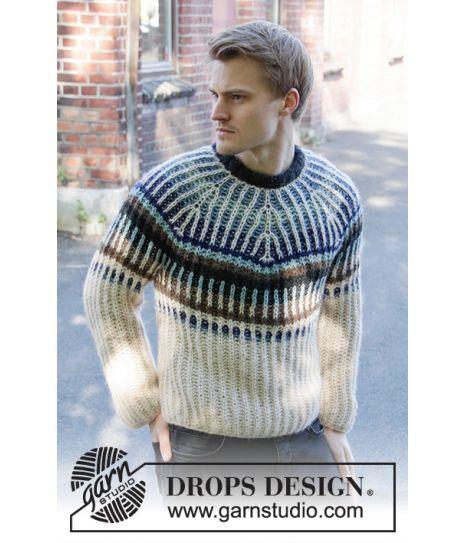 Urban Autumn strikkegenser til herre Drops 208 17